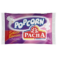 Pipoca de micro ondas sabor bacon Pachá 100g