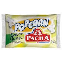 Pipoca de micro ondas sabor queijo Pachá 100g
