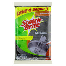 Esponja multiuso Scotch Brite 3M  4x1