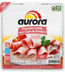 Presunto fatiado sem capa de gordura a vácuo Aurora 200g