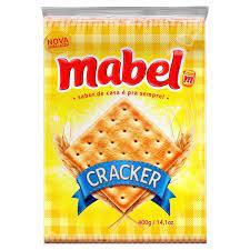 Biscoito Cream Cracker Mabel 400g.