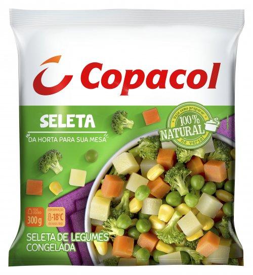 Seleta de legumes congelada Copacol 300g