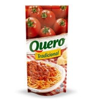 Molho de tomate tradicional Quero sachê 340g