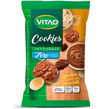 Cookies zero banana c/ cobertura de chocolate Vitao 150g