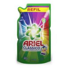 Sabão líquido lava roupas Ariel clássico refil 1,5 lts