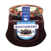 Geléia amora diet Queensberry 320g.