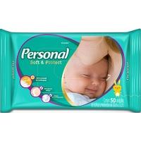 Lenço umedecido Baby Personal 50x1