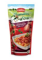 Molho tomate sabor pepperoni sachê Cepêra 340g