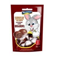 Ovinhos de Páscoa chocolate com recheio de brigadeiro Montevérgine 85g