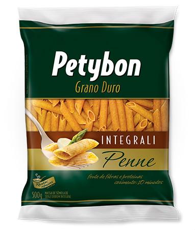 Massa integral penne grano duro Petybon 500g