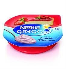 Iogurte grego sabor torta de frutas vermelhas Nestlé 90g