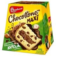 Chocottone Maxi chocolate com avelã Bauducco 500g