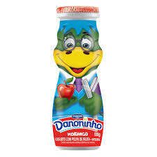 Iogurte líquido sabor morango Danoninho 100ml