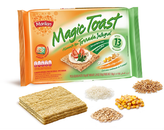 Torrada integral Magic Toast Marilan 130g