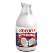 Leite de coco reduzido teor calórico Sococo 200ml.