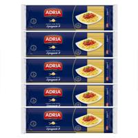 Massa com ovos espaguete  Adria  500g. (pacote c/ 5 unid.)