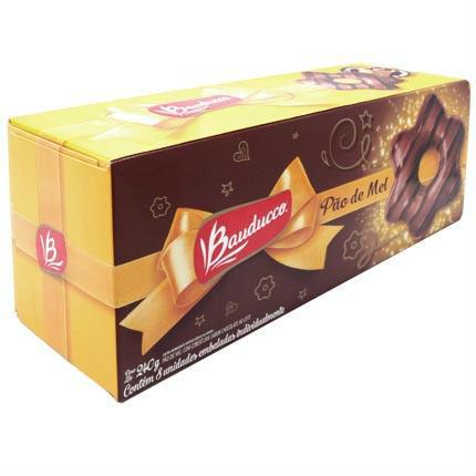 Pão de mel Bauducco 30g (caixa c/ 8 unid.)