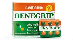 Benegrip caixa c/ 25 cartelas c/ 6 comprimidos