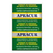 Apracur cartela c/ 6 comprimidos