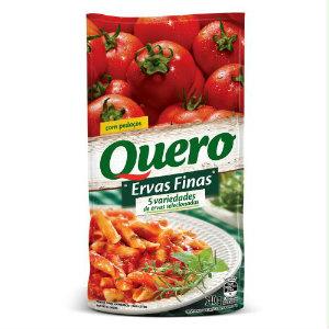 Molho de tomate com ervas finas Quero 340g