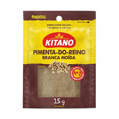 Pimenta branca moida Kitano 15g