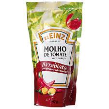 Molho de Tomate Arrabiata Heinz 340g