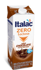 Achocolatado pronto zero lactose Italac 1lt