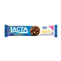 Cookie com gotas de chocolate Lacta 80g