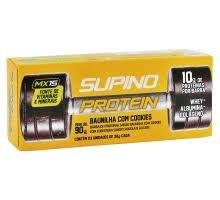 Barra de proteina c/ colágeno bunilha c/ cruspies 3x30g Supino