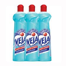 Limpa vidros Veja vidrex tradicional com álcool squeeze 500ml. (pacote com 3 unidades)