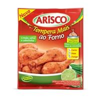 Tempero ao forno limão, salsa e cebolinha p/ carnes, frango e peixe Arisco 21g