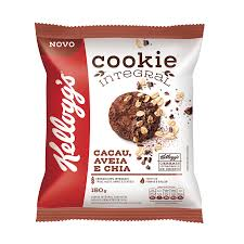 Cookie integral de cacau, aveia e chia Kellogg's 150g