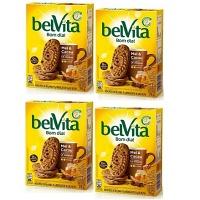 Biscoito Belvita mel e cacau 75g ( pacote c/ 4 unid.)
