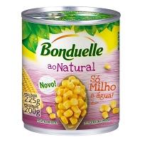 Milho ao vapor natural Bonduelle 200g