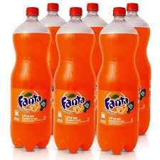 Fanta Laranja pet 2 litros ( pacote c/ 6 unid.)