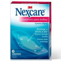 Curativos para bolhas Nexcare 6x1