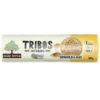 Biscoitos integral orgânico granola e mel Tribos Mãe Terra 130g