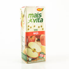 Bebida a base de soja sabor maçã Mais Vita Yoki  1lt.