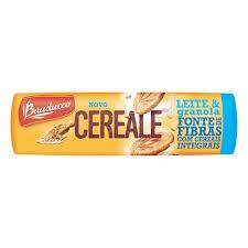 Biscoito leite e granola cereale Bauducco 170g