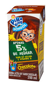 Achocolatado Pirakids School 200ml