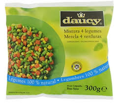 Mix de 4 legumes Daucy 300g