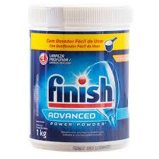 Detergente em pó para máquina de lavar louças Power Powder Finish 450g