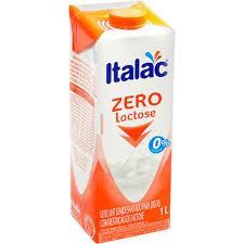 Leite semi desnatado zero lactose Italac 1lt