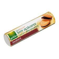 Biscoito diet recheado c/ chocolate Gullón 250g