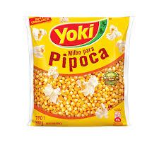 Milho de pipoca tradicional Yoki 500g.