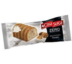 Bolinho integral de nozes zero Casa Suíça 35g