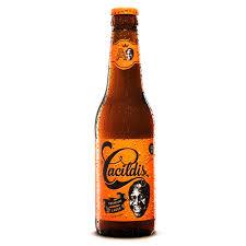 Cerveja puro malte Cacildis long neck 355ml
