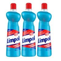Limpa vidros Limpol Bombril  squeeze 500ml (pacote c/ 3 und.)