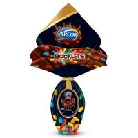 Ovo de Páscoa Rocklets confeitos Arcor 205g