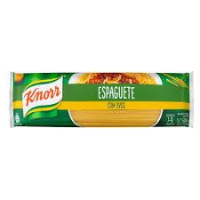Massa com ovos espaguete Knorr 500g